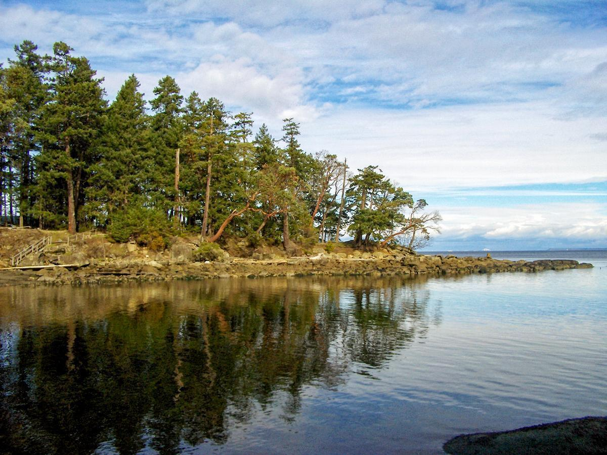Galiano Island is one of British Columbia's Gulf Islands on Canada's West Coast