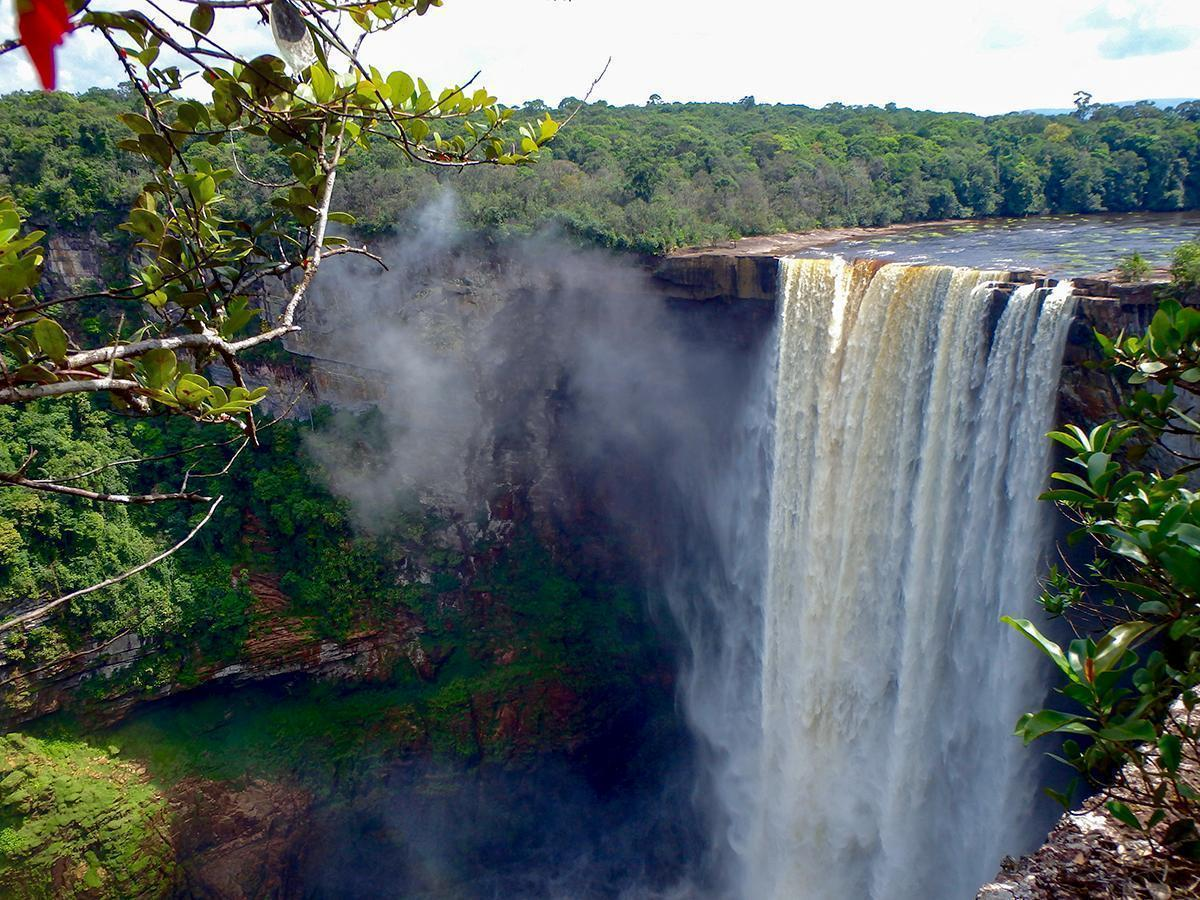 Another viewpoint of Kaieteur Falls, Guyana. South America