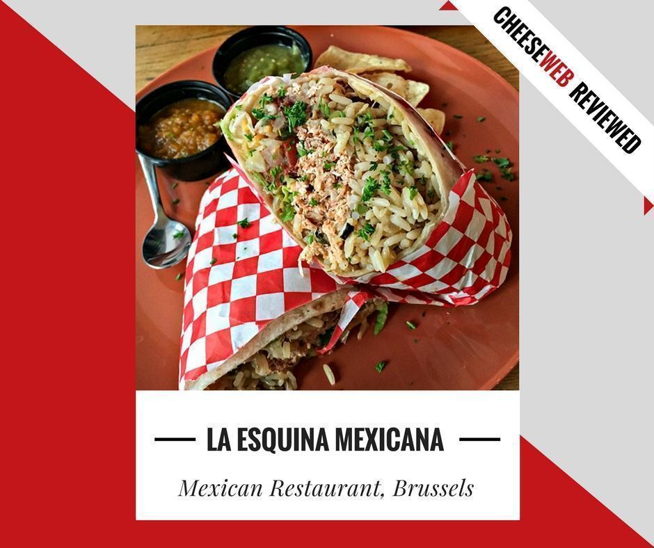 La Esquina Mexicana Mexican Restaurant Brussels Belgium