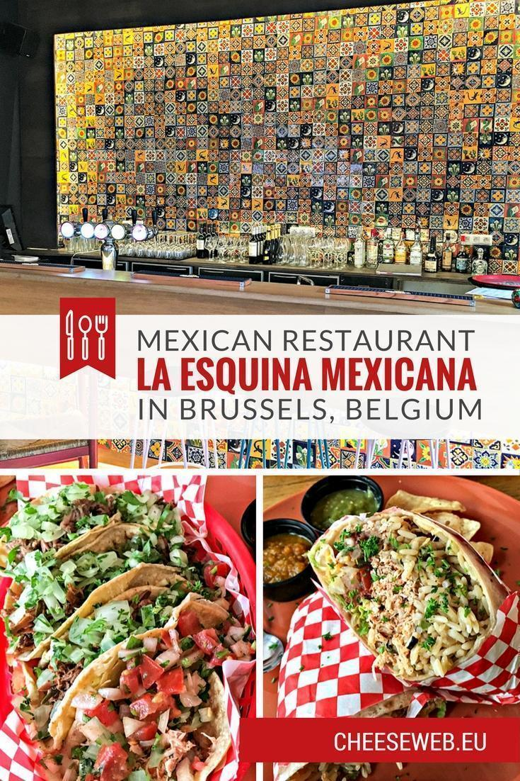 Monika reviews La Esquina Mexicana, a new Mexican restaurant in Brussels, Belgium. Get your taco fix just steps from Grand Place!