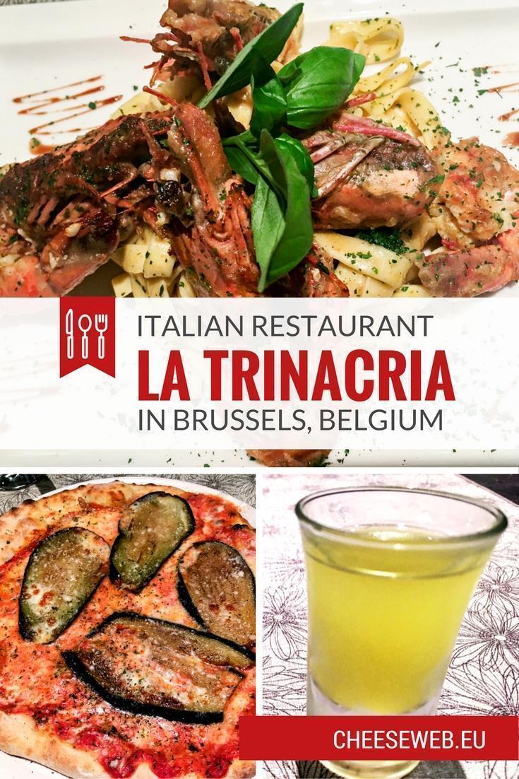 Monika reviews Italian Restaurant, La Trinacria, in the Woluwe-Saint-Lambert neighbourhood of Brussels, Belgium.
