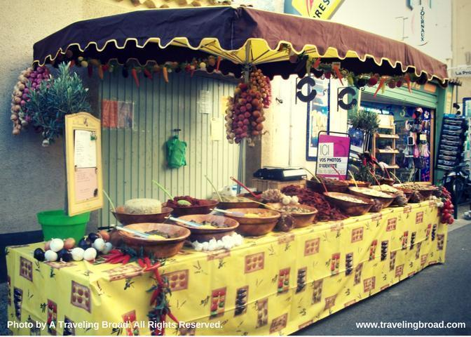 Market Day in Saint-Saturnin-Les-Apt, France