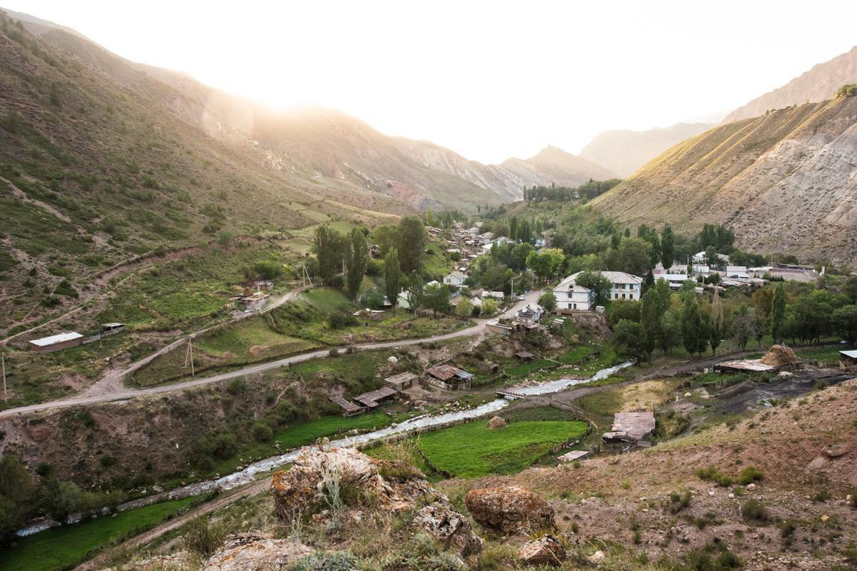 Remote but lovely Min Kush, Kyrgyzstan