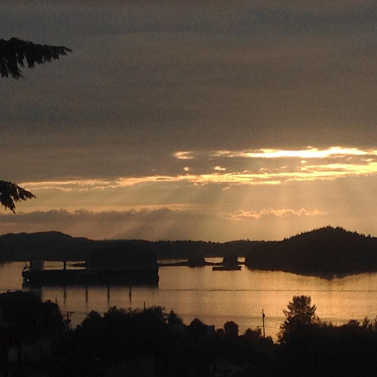 The calming vibes of Prince Rupert, BC at sunset
