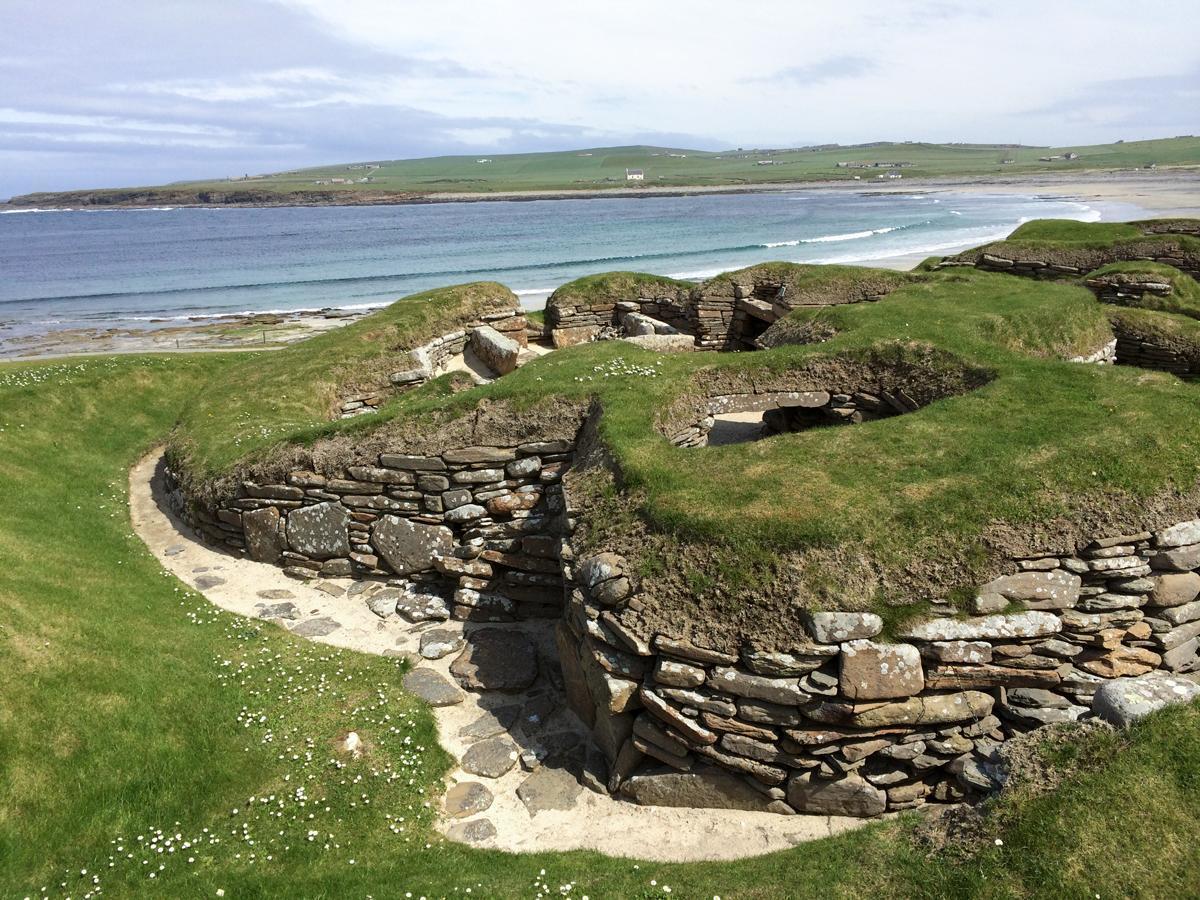 Skara Brae, Kirkwall, Orkney Islands, Scotland
