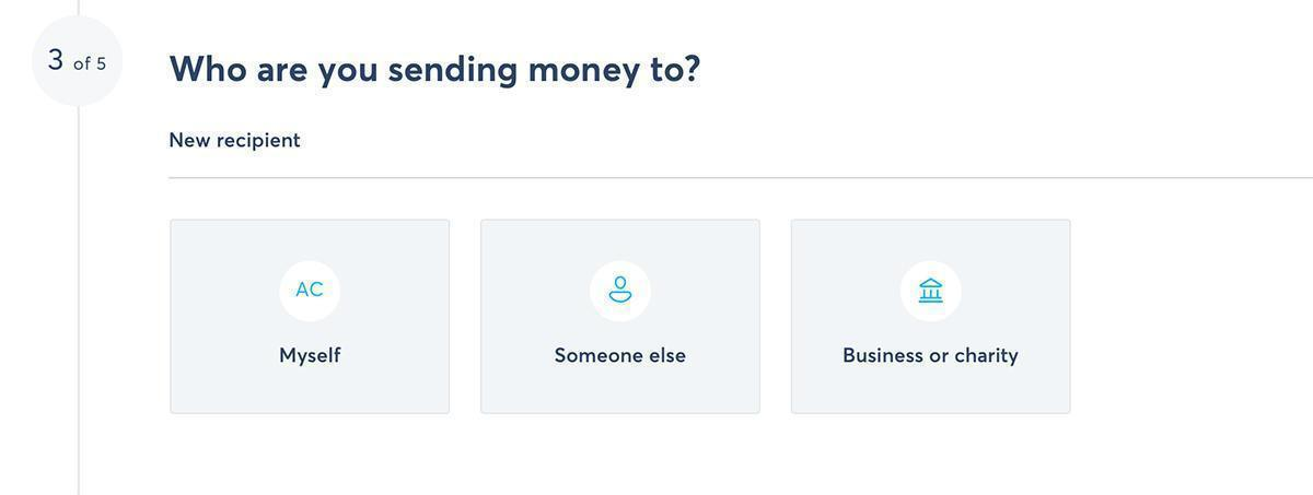 TransferWise - Send money to a friend, business, or charity