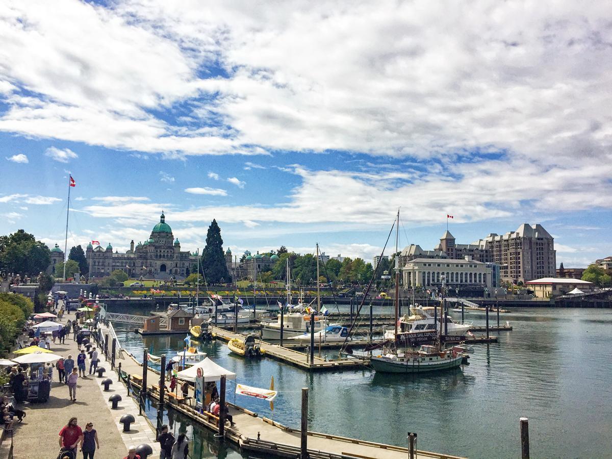 Victoria, British Columbia's Inner Harbour.