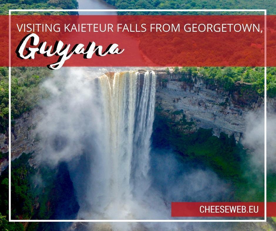 Visiting Kaieteur Falls from Georgetown, Guyana, South America