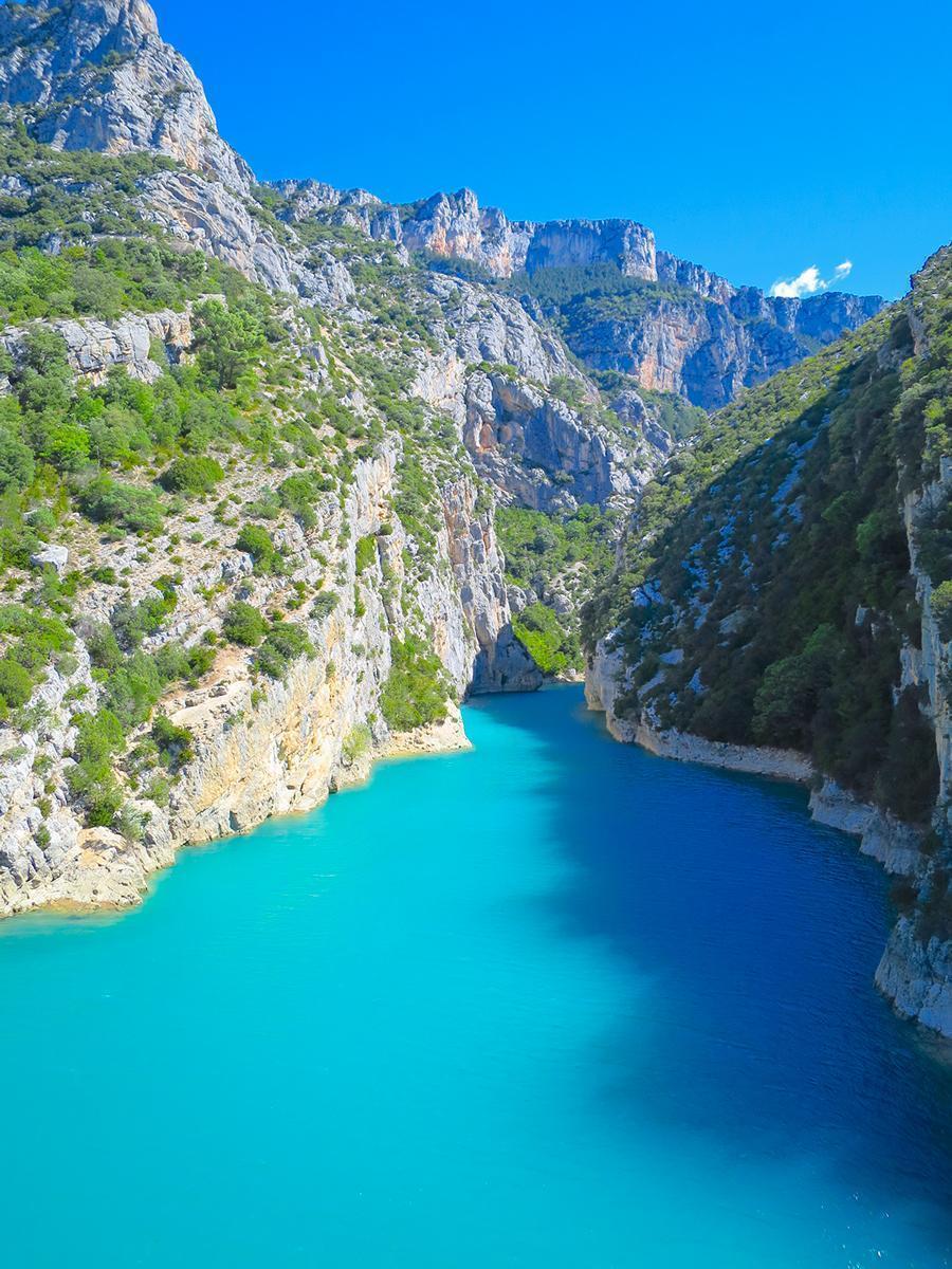 The Gorges-du-Verdon near Castellane, France