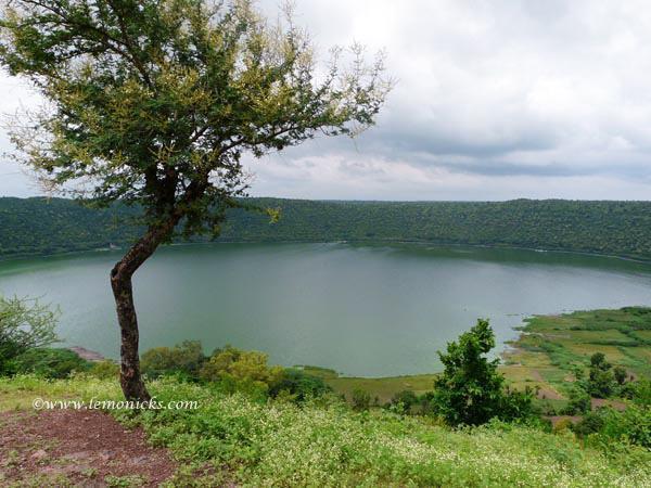 Lonar Crater, in Lonar India