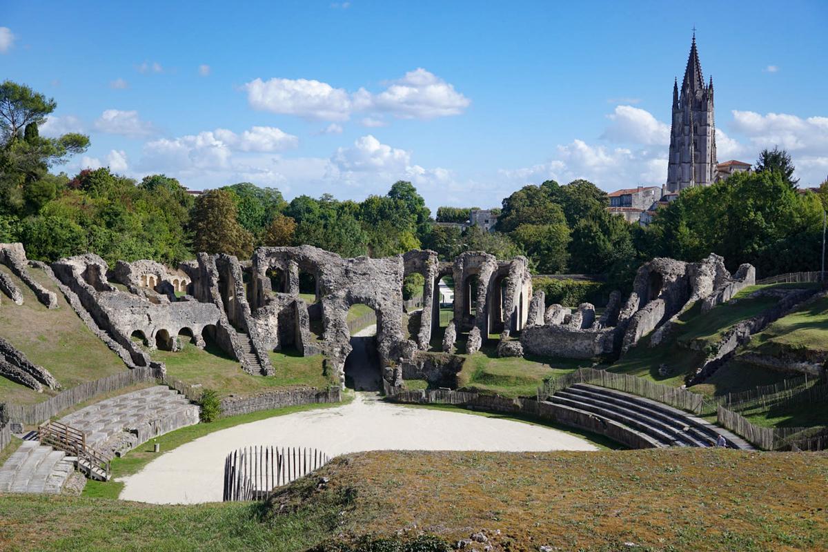 Roman amphitheatre, Saintes, France