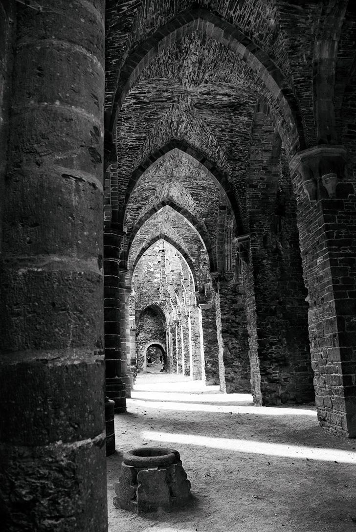 Romantic Villers Abbey is a stunning ruin in Wallonia