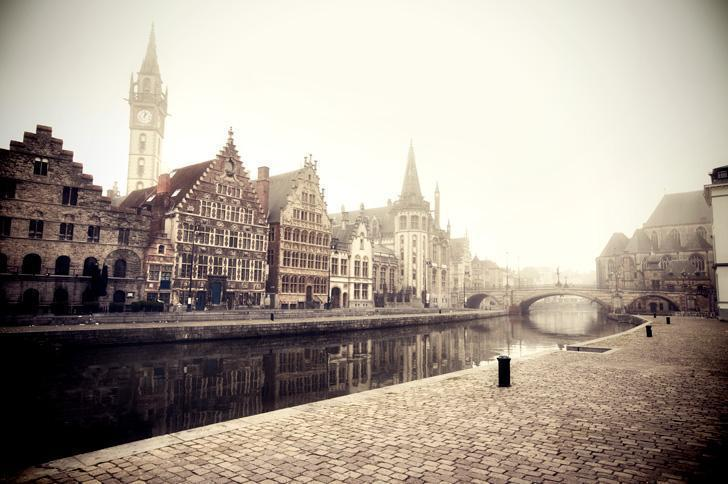 Misty, magical Ghent is our favourite city in Flanders.