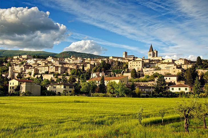 How could we not fall for pretty Spello, Umbria, Italy?