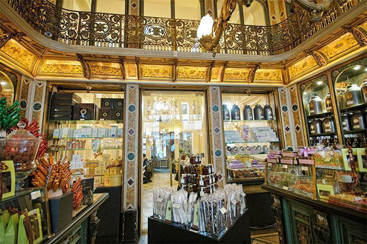The Meert bakery is just one of the many foodie destinations in Lille, France