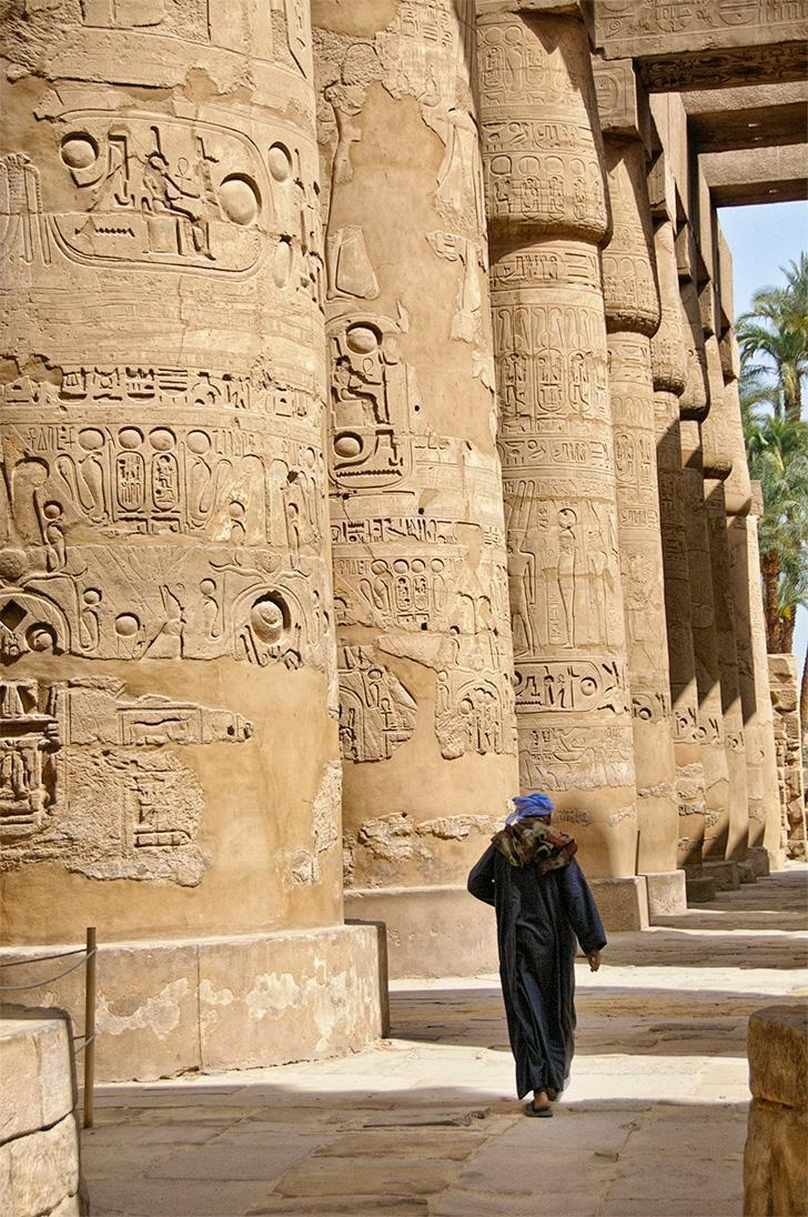 Egypt was not at all what I expected and I hope to return and discover more of its secrets.