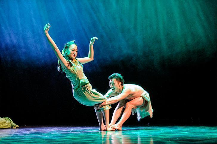 The Legend of the Sun was an unforgettable dance spectacle in Brussels, Belgium