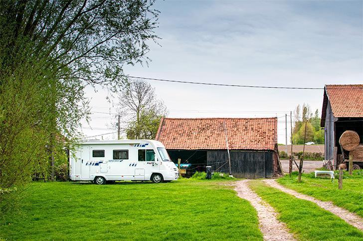 This little farm in Northern France was the first overnight campsite of our three-month slow travel adventure.