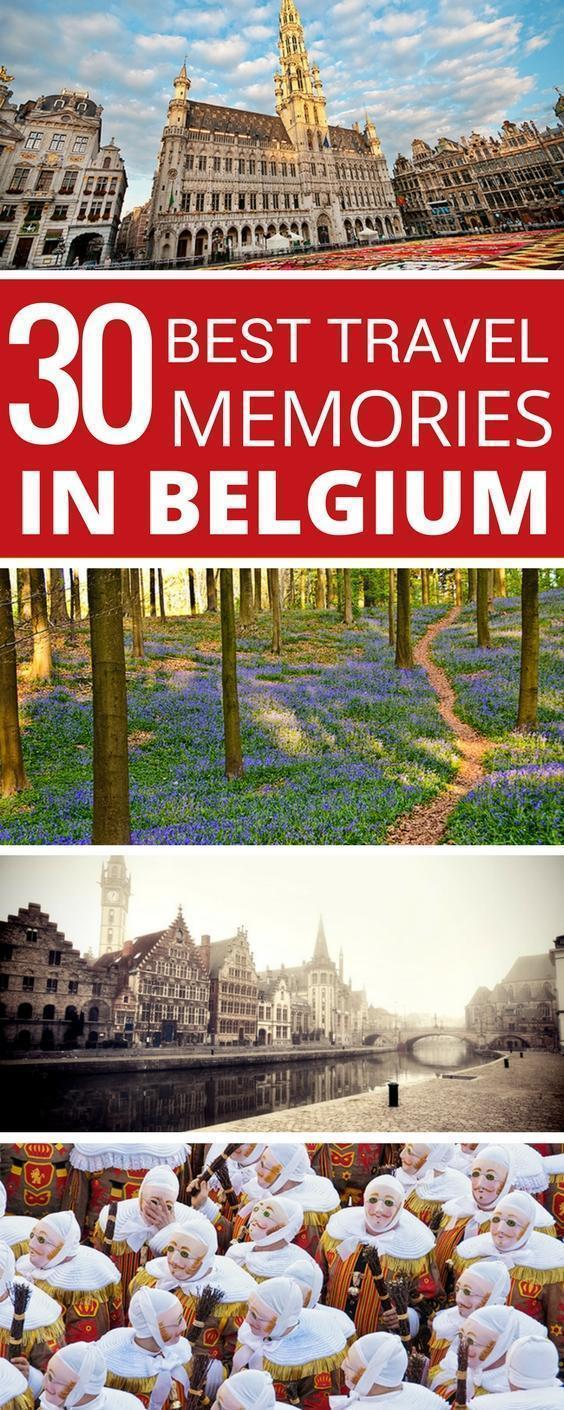To celebrate my 40th birthday, I'm sharing the 30 best experiences I had in Belgium during my thirties!