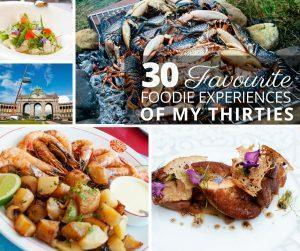 To celebrate my 40th birthday, I'm sharing the 30 best food and dining experiences I had during my thirties covering Europe, Asia, and the Americas!