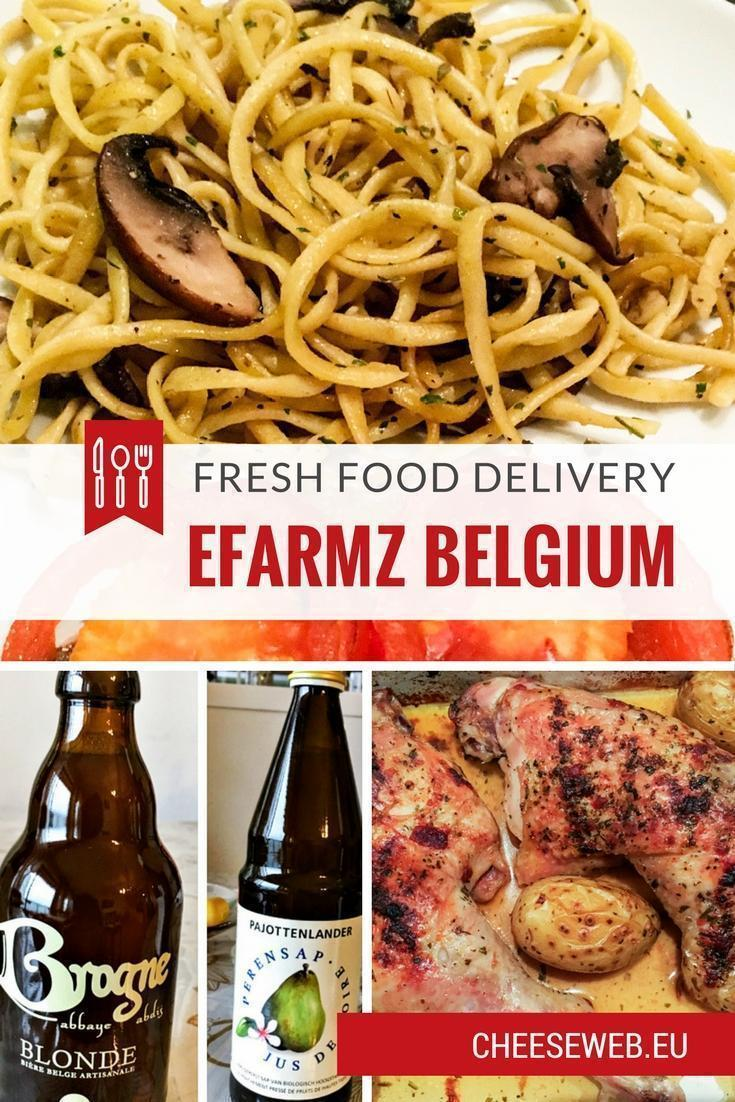Local, seasonal, and organic produce delivery in Belgium – we review Efarmz.