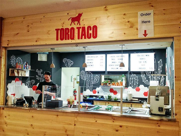 Toro Taco, Mexican take-out in Market Square, Saint John, NB