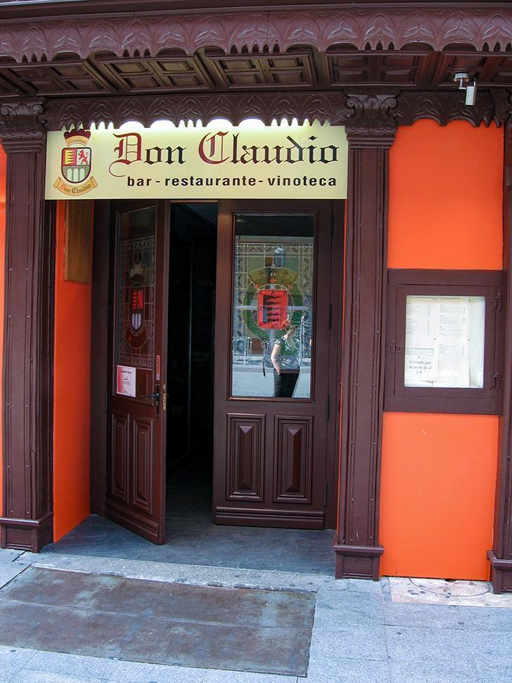 Unassuming Don Claudio Restaurant in Valladolid, Spain was a turning point in my attitude to food.