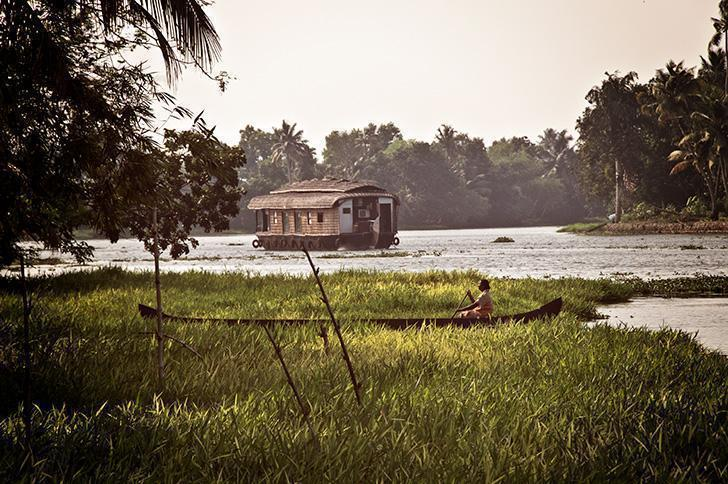 We had so many unforgettable moments in India but cruising the Kerala Backwaters tops the list.