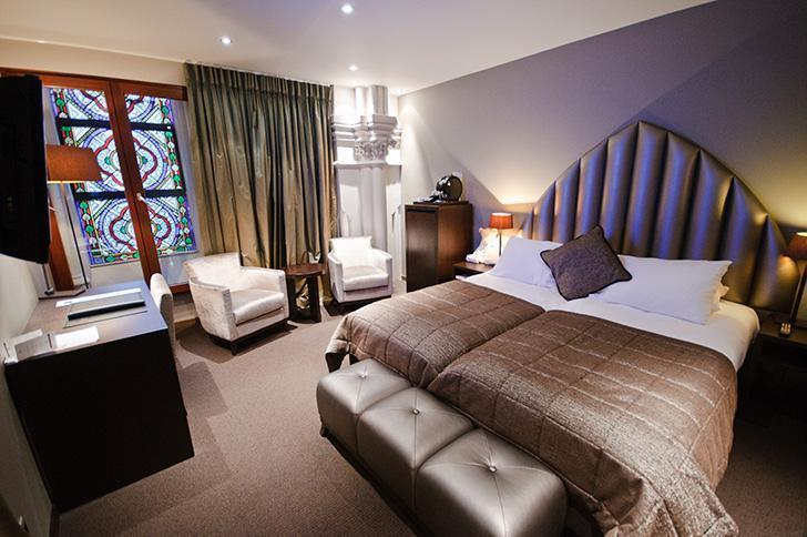 Our room at Martin's Patershof hotel was a romantic and memorable stay in Mechelen.