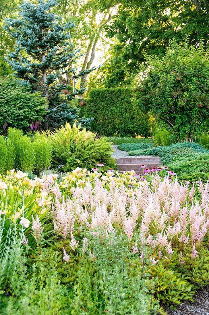 Strolling through the Kingbrae's Perennial Garden