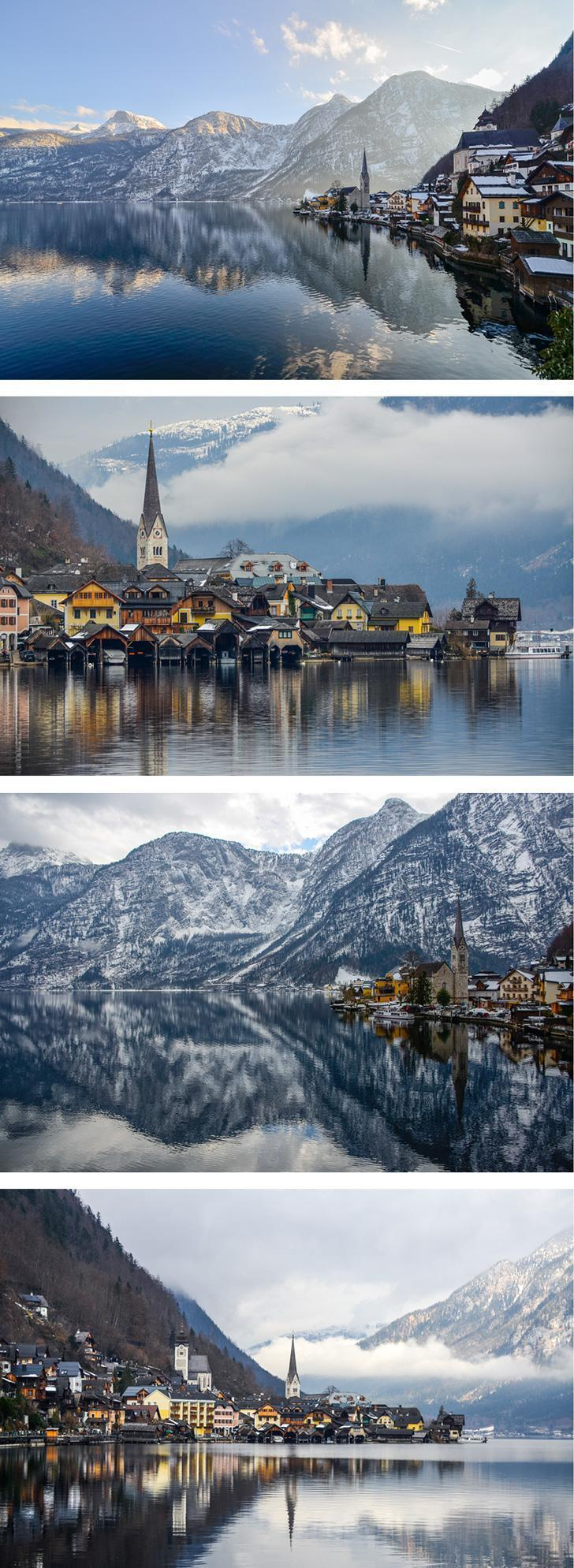 It's no wonder the Chinese love Hallstatt in winter. The Austrian town is simply charming!