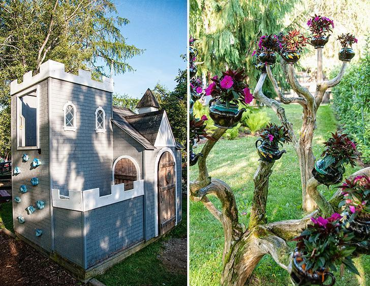 The children's Fantasy Garden is interactive and quirky'
