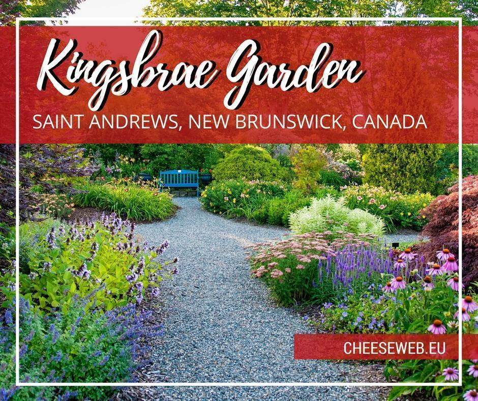 Kingsbrae Garden in Saint Andrews, New Brunswick, combines flowers, art, food, and animals making it family-friendly and one of the best gardens in Canada.
