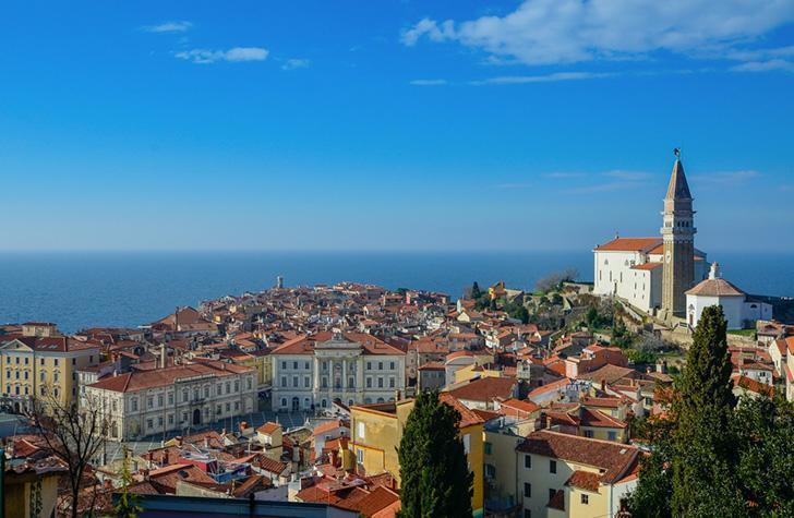 A visit to picture-perfect Piran is one of the top things to do in Slovenia