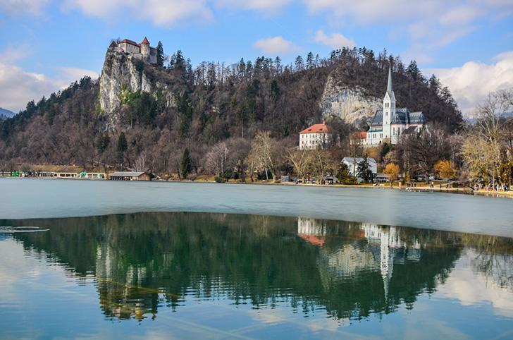 One of the best things to do in Slovenia is climbing up to Bled Castle to admire the view
