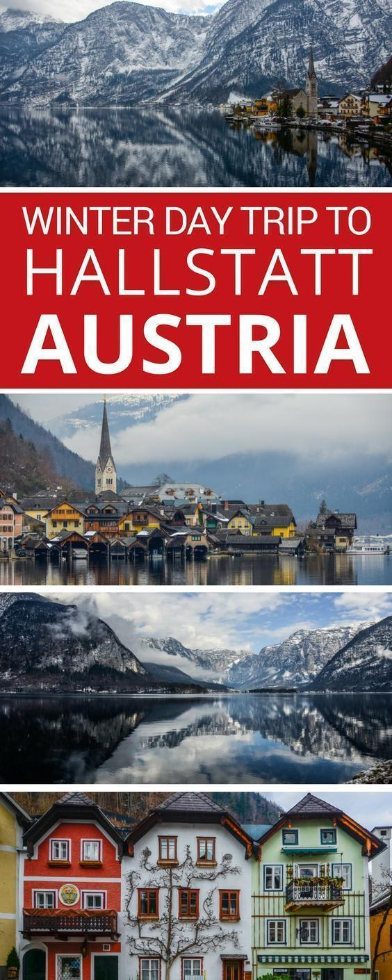 Adi and her family take a day trip to Austria to discover the magic of UNESCO-Listed Hallstatt in winter.