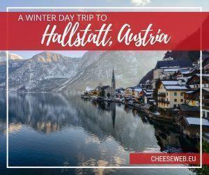 An Austrian Day Trip to Hallstatt in Winter