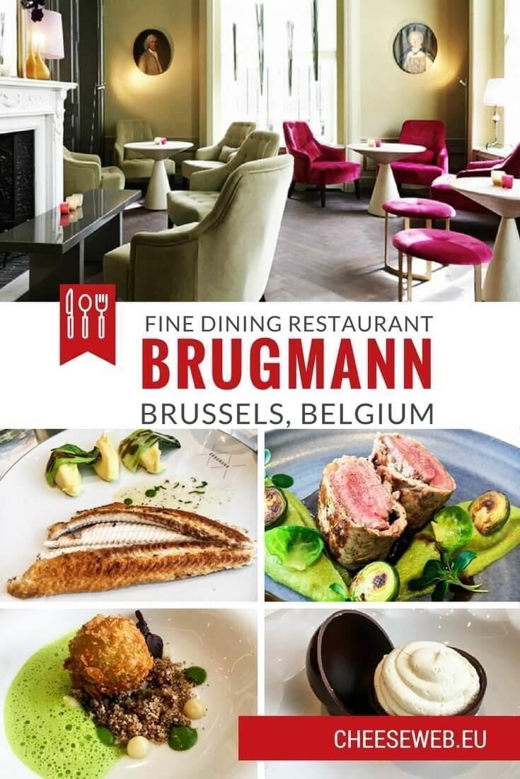 Monika reviews fine dining Restaurant Brugmann in Brussels' Châtelain neighbourhood; a great new place to dine in Brussels, Belgium.