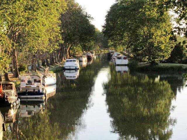 Cruise on the UNESCO-Listed Canal du Midi in Carcassonne, France