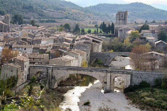 Picture-perfect Lagrasse is another important Cathar site near Carcassonne, in Southwest France