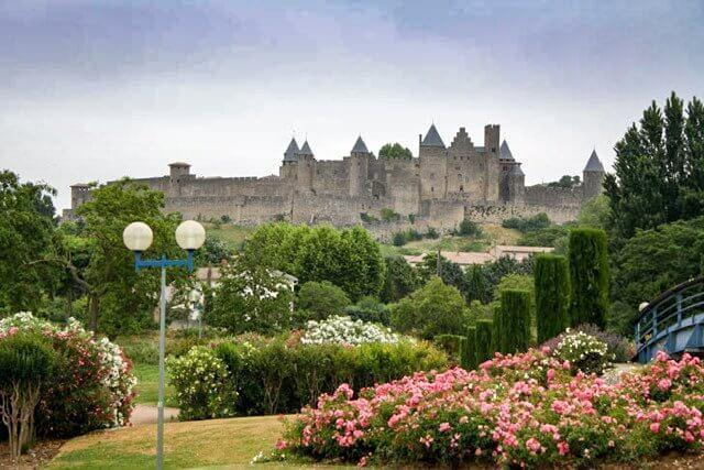 Carcassonne's heart, Le Cite makes a stunning profile on the skyline when viewed from the Ville Basse.