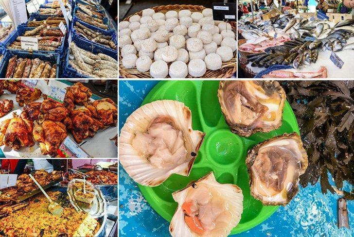 The Marché Bastille is one of the best food markets in Paris