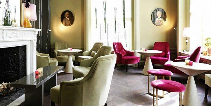 The Boudoir with its stately elegance – Restaurant Brugmann, Brussels