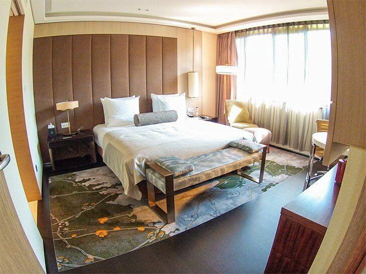 Brussels luxury hotel Tangla with an Asian zen flair.
