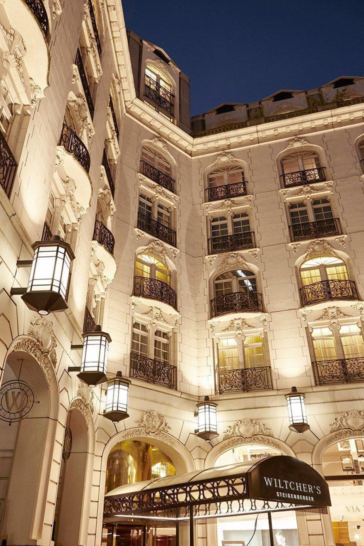 Steigenberger Wiltcher's 5 Star hotel in Brussels, on Avenue Louise.