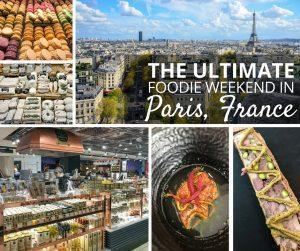 Adi shares how to maximise 48 hours of eating on the ultimate French foodie weekend in Paris, France