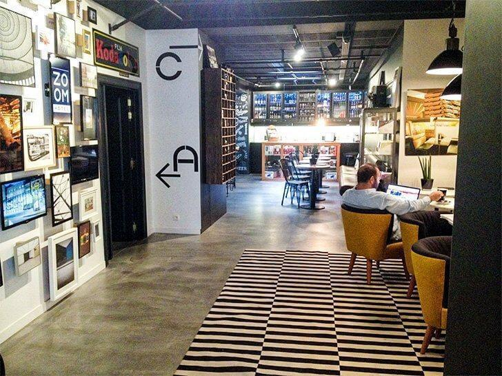 Zoom is a budget hotel in Brussels with a great bar and funky design.