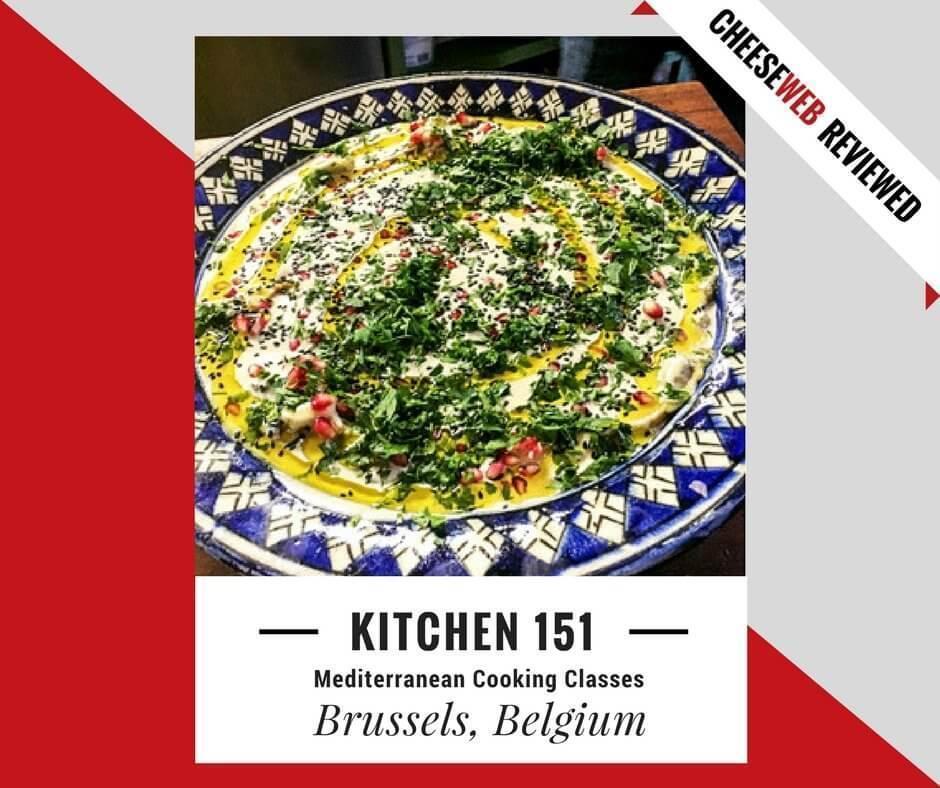 Monika reviews Kitchen 151's Mediterranean Cooking Classes in Brussels, Belgium.
