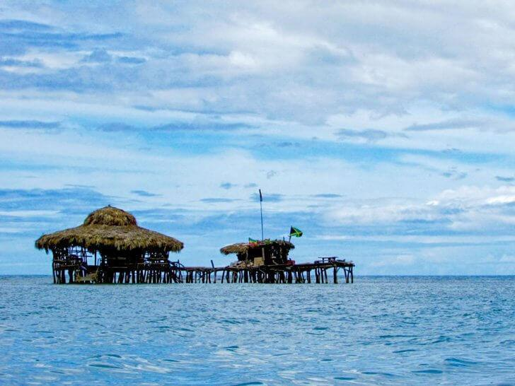 Relax at the Pelican Bar in Jamaica