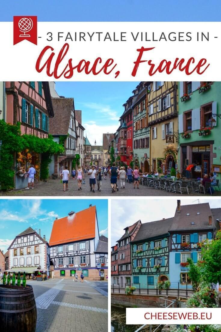 Our guide to the 3 most beautiful villages in Alsace France